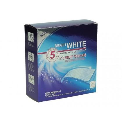 BRIGHT WHITE Paski wybielające 56 szt