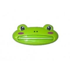 Wyciskacz Pasty do zębów w kształcie żaby w kolorze zielonym