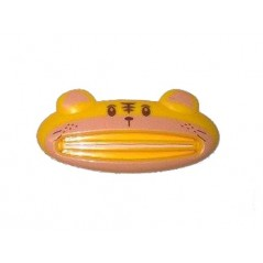 Wyciskacz Pasty do zębów w kształcie tygrysa w kolorze żółtym