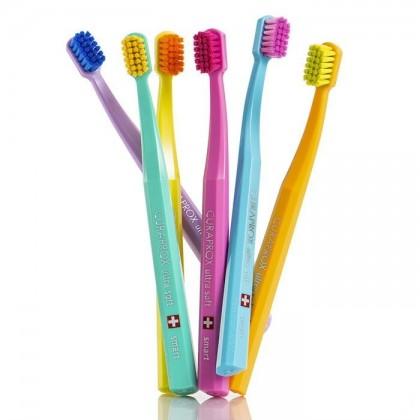 CURAPROX SMART CS 7600 ULTRA SOFT - Szczoteczka do zębów dla dzieci od 5 lat ultra miękka (opakowanie foliowe CELLO)