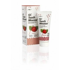 GC Tooth Mousse ochronna pasta bez fluoru 35 ml (płynne szkliwo) - smak truskawkowy