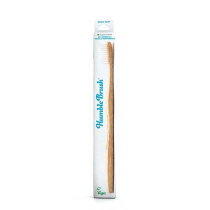 Humble Brush - ekologiczna szczoteczka do zębów z bambusa, miękka, biała