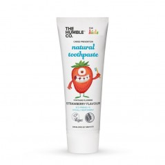 Humble Kids Strawberry - Naturalna pasta dla dzieci w wieku od 0 - 6 lat
