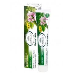 L'Angelica Natural Active Ziołowa Ochrona - Profilaktyczna, w 100% naturalna pasta do zębów 75 ml