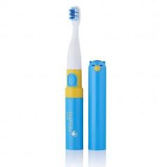 BRUSH-BABY Go-Kidz - szczoteczka soniczna dla dzieci w wieku 3+ niebieska