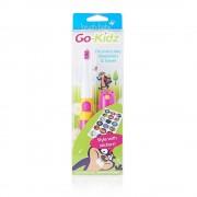 BRUSH-BABY Go-Kidz - szczoteczka soniczna dla dzieci w wieku 3+ różowa