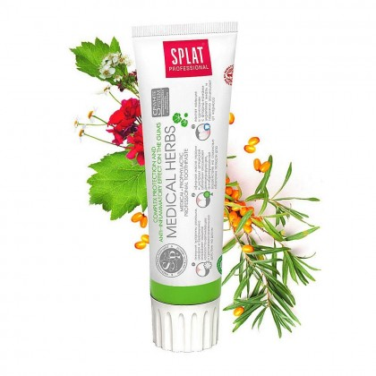 Splat Medical Herbs - pasta do zębów chroniąca dziąsła 100 ml