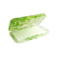 Wosk ortodontyczny bezzapachowy w przejrzysto-zielonym pudełku