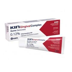 KIN Gingival pasta antybakteryjna choroby dziąseł z chlorheksydyną - 75 ml
