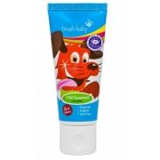 BRUSH-BABY Spearmint - pasta do zębów dla dzieci w wieku powyżej 6 lat o smaku miętowym (75 ml)