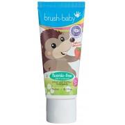 BRUSH-BABY - pasta do zębów bez fluoru dla dzieci w wieku od 0-2 lat o smaku truskawkowym (50 ml)