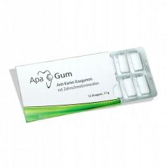 ApaCare Guma do żucia zapobiega próchnicy, 12 szt