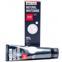 Splat BIO White Plus - naturalnie wybielająca pasta do zębów, dla dorosłych, 125g