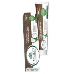 L'Angelica Coco Detox 75 ml - Pasta do zębów w 100% naturalna