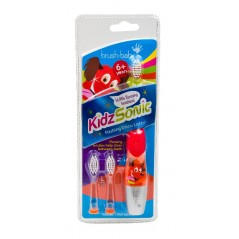 BRUSH-BABY KidzSonic - Szczoteczka soniczna dla dzieci w wieku od 6 lat