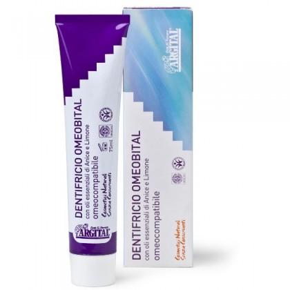 ARGITAL Omeobital - w 100% naturalna pasta wybielająca na bazie olejków anyżu i cytryny - 75 ml