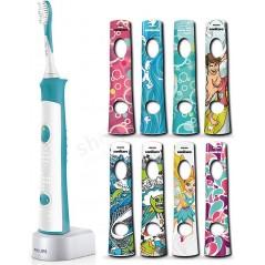 Philips Sonicare For Kids HX6311/07 - Szczoteczka elektryczna (soniczna) dla dzieci od 4 roku życia