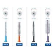 Curaprox CPS 28 Strong&Implant 5 sztuk (fioletowe) - międzyzębowe szczoteczki o delikatnym włosiu