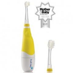 BRUSH-BABY BabySonic - Szczoteczka soniczna dla dzieci w wieku 0-3 lat