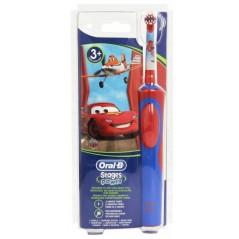 BRAUN ORAL-B Stages Power 900 Kids Auta - Szczoteczka elektryczna akumulatorowa dla dzieci od 3-5 lat