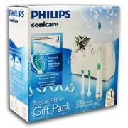 PHILIPS SONICARE Easy Clean HX6511/33 - Szczoteczka soniczna z kosmetyczką i 2 końcówkami gratis Dystrybucja PL