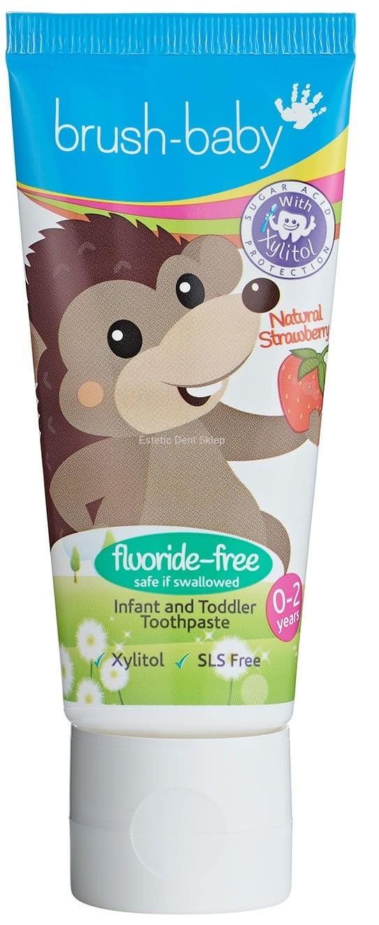 Brush-baby pasta dla dzieci w wieku 0-2 lata